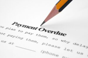 Payment overdue notice